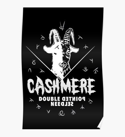 Heavy Metal Knitting - Cashmere - Double Pointed Needles Poster