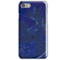 Sydney Inner West Map in Blue iPhone Case/Skin