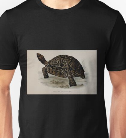 Tortoises terrapins and turtles drawn from life by James de Carle Sowerby and Edward Lear 011 Unisex T-Shirt