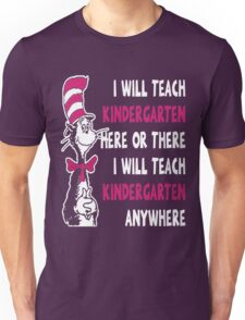 KINDERGARTEN TEACHER Unisex T-Shirt