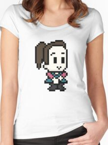 Community Annie 8 bit Women's Fitted Scoop T-Shirt