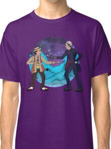 Of Spoons and Scotsmen #4 (Characters and Round Background) Classic T-Shirt