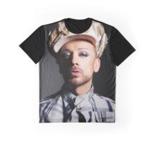 Boy George (button beret) Graphic T-Shirt
