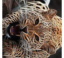 Neon Leopard by artonall