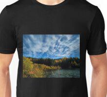 Beautiful autumn day. Wisła Czarne Fojtula Unisex T-Shirt