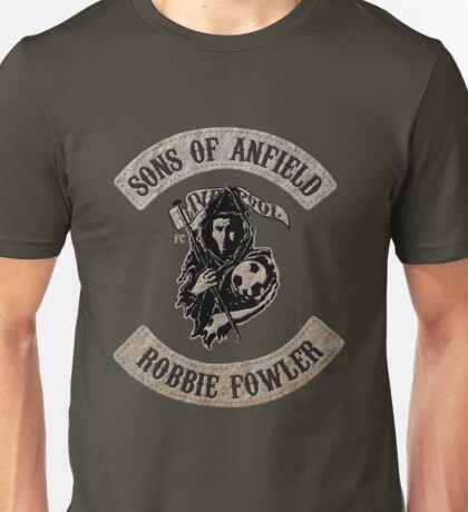Sons of Anfield - Players Fowler Unisex T-Shirt