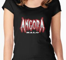 Heavy Metal Knitting - Angora - Halo Women's Fitted Scoop T-Shirt