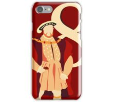 Henry VIII iPhone Case/Skin