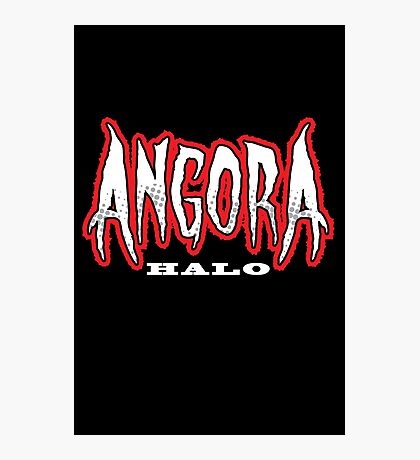 Heavy Metal Knitting - Angora - Halo Photographic Print