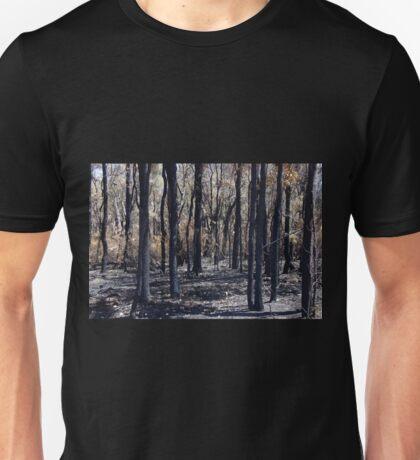 Burn Blackened Bush Unisex T-Shirt