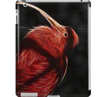 Red neon Bird iPad Case/Skin