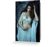 Vampire Bride I Greeting Card