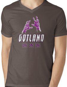 Heavy Metal Knitting - Gotland - DYE DYE DYE Mens V-Neck T-Shirt
