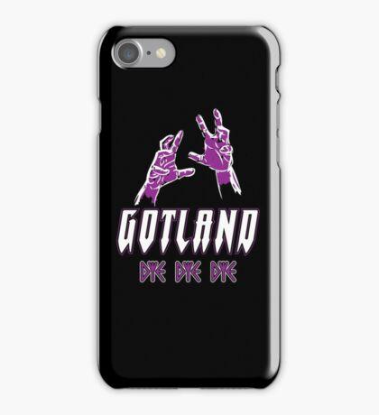 Heavy Metal Knitting - Gotland - DYE DYE DYE iPhone Case/Skin
