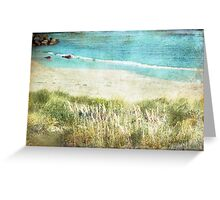 Colours by the Sea Greeting Card