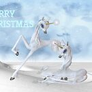 Unicorn Christmas by LoneAngel