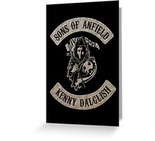 Sons of Anfield - Players Dalglish Greeting Card