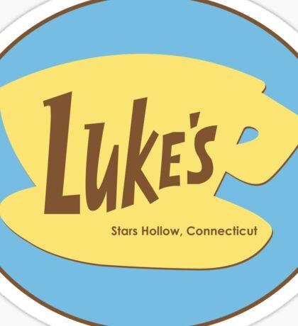 Gilmore Girl's Luke's Cafe Sticker