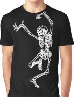 Crazy Skeleton Graphic T-Shirt