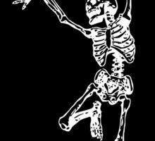 Crazy Skeleton Sticker