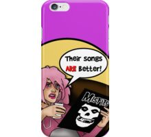 Jem's shocking discovery! iPhone Case/Skin