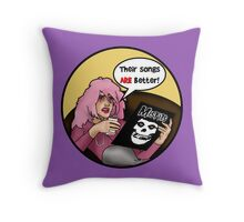 Jem's shocking discovery! Throw Pillow