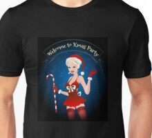 Welcome to Xmas Party Unisex T-Shirt