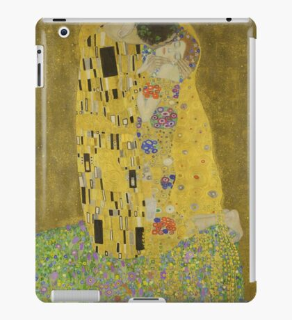 The Kiss by Gustav Klimt iPad Case/Skin