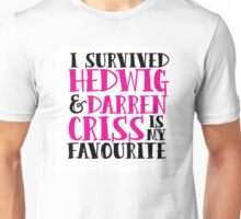 I survived HATAI and Darren Criss is my fav Unisex T-Shirt