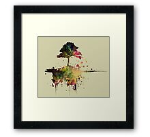 Watercolor Tree  Framed Print