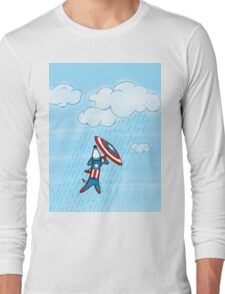 Captain America-ween Long Sleeve T-Shirt