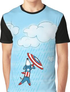 Captain America-ween Graphic T-Shirt