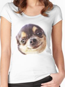 little dog Women's Fitted Scoop T-Shirt