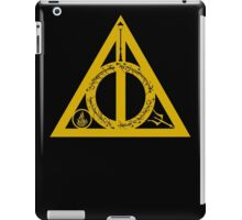 Bookly Hallows - Gold iPad Case/Skin