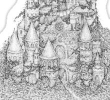 Ghost Castle Sticker