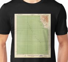 USGS TOPO Map California CA Piedras Blancas 298540 1927 62500 geo Unisex T-Shirt