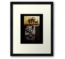 The GARGOYLE and the LOST GENERATION Framed Print