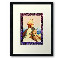 lonely hill Framed Print