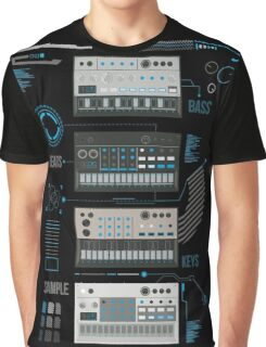 Volca Series Basic Blue  Graphic T-Shirt
