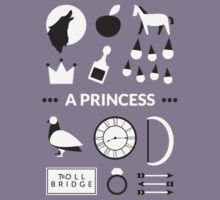 Once Upon A Time - A Princess Kids Clothes