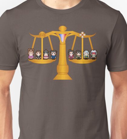 Both Sides Of The Law Unisex T-Shirt