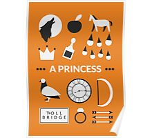 Once Upon A Time - A Princess Poster