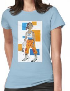 Tired Subject Womens Fitted T-Shirt