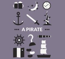Once Upon A Time - A Pirate Kids Clothes
