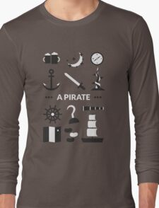 Once Upon A Time - A Pirate Long Sleeve T-Shirt