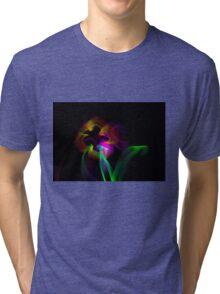 Light Flowers Tri-blend T-Shirt