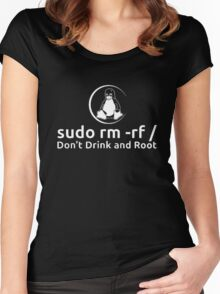 Dont Drink And Root Women's Fitted Scoop T-Shirt
