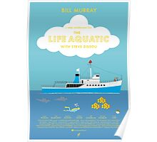 The Life Aquatic with Steve Zissou Movie Poster (alt version) Poster