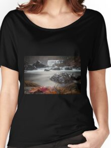 Fall at Middle Falls Women's Relaxed Fit T-Shirt