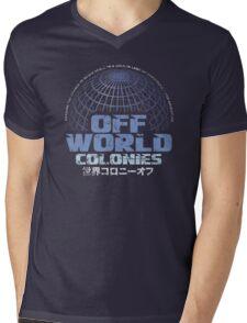 Off World Colonies Mens V-Neck T-Shirt